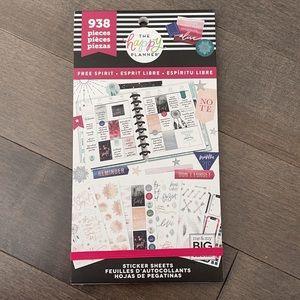 HAPPY PLANNER Free Spirit Sticker Book